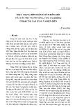 Thực trạng hôn nhân xuyên biên giới của các tộc người Nùng, Thái, Hmông ở hai tỉnh Cao Bằng và Điện Biên - Lê Thị Hường