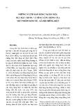 Những người bán hàng rong tại Hà Nội: Nét đặc trương và tính năng động của một nhóm kinh tế, xã hội riêng biệt