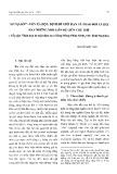Số nợ đời - Vốn xã hội: Định đề giới hạn về trao đổi xã hội hay những mối liên hệ liên chủ thể (Tiếp cận Nhân học từ một đám ma ở làng Nùng Phàn SLình, tỉnh Thái Nguyên)