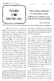 Trống trong đời sống của người Ma Coong (Nghiên cứu ở Xã Thượng Trạch, huyện Bố Trạch, tỉnh Quảng Bình) - Nguyễn Văn Trung