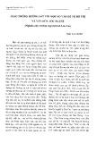 Giao thông đường sắt với một số vấn đề về đô thị và văn hóa tộc người - Trần Thùy Dương