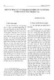 Một vài nhận xét về tình hình nghiên cứu người Thái ở Việt Nam từ năm 1980 đến nay - Nguyễn Công Thảo