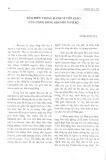 Báo hiếu trong hành vi tôn giáo của cộng đồng Khơ-me Nam Bộ - Huỳnh Ngọc Thu