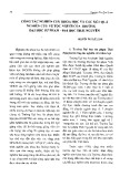 Công tác nghiên cứu khoa học và các kết quả nghiên cứu về tộc người của Trường Đại học Sư phạm - Đại học Thái Nguyên
