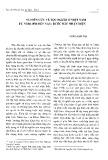 Nghiên cứu về tộc người ở Việt Nam từ năm 1980 đến nay: Bước đầu nhận diện - Vương Xuân Tình