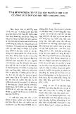 Tình hình nghiên cứu về các tộc người của Việt Nam của bảo tàng dân tộc học ở Việt Nam (1996-2012) - Lưu Hùng