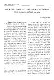 Ảnh hưởng của đạo Tin Lành ở vùng dân tộc thiểu số nước ta trong thời kỳ đổi mới - Nguyễn Văn Minh