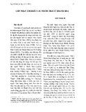 Góp phần tìm hiểu các nhóm Thái ở Thanh Hóa - Ngô Thanh An