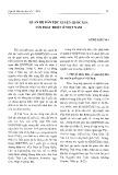 Quan hệ dân tộc xuyên quốc gia với phát triển ở Việt Nam - Vương Xuân Tình