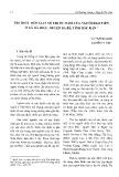 Tri thức dân gian về thuốc nam của người Dao Tiền ở xã Hà Hiệu, huyện Ba bể, tỉnh Bắc Kạn
