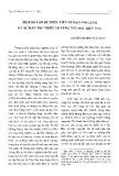 Một số vấn đề thực tiễn về đạo Tin Lành ở các dân tộc thiểu số vùng Tây Bắc hiện nay - Nguyễn Văn Minh