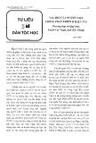 Vai trò của người Việt trong phát triển ở miền núi - Tạ Thị Tâm