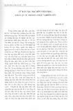 Từ dân tộc học đến nhân học: Tiếp cận từ phương pháp nghiên cứu - Ngô Văn Lệ