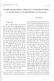 Tri thức bản địa trong canh tác lúa nương truyền thống của người Thái ở các xã miền núi phía Tây Thanh Hóa - Ngô Xuân Sao