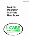 Forklift Operator Training Handbook