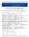 Đề thi thử THPT quốc gia năm 2015 môn: Hóa học - Đề luyện thi số 25