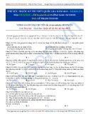 Đề thi thử THPT Quốc gia năm 2015 môn: Hóa học - Đề luyện thi số 8