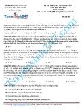 Đề thi thử THPT quốc gia năm học 2014-2015 môn Vật lý lần 1 - Trường THPT Mộc Xuyên (Mã đề thi 485)