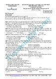 Đề thi thử đại học, cao đẳng năm học 2014-2015 môn Hóa học, khối A, B lần thứ nhất - Trường THPT chuyên Tuyên Quang (Mã đề thi 136)