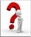 Ngân hàng câu hỏi: Nguyên lý thống kê
