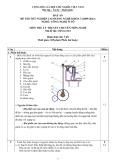 Đáp án đề thi tốt nghiệp cao đẳng nghề khóa 3 (2009-2012) - Nghề: Công nghệ ô tô - Môn thi: Lý thuyết chuyên môn nghề - Mã đề thi: OTO-LT23