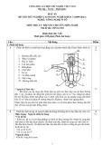 Đáp án đề thi tốt nghiệp cao đẳng nghề khóa 3 (2009-2012) - Nghề: Công nghệ ô tô - Môn thi: Lý thuyết chuyên môn nghề - Mã đề thi: OTO-LT10