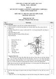 Đáp án đề thi tốt nghiệp cao đẳng nghề khóa 3 (2009-2012) - Nghề: Công nghệ ô tô - Môn thi: Lý thuyết chuyên môn nghề - Mã đề thi: OTO-LT19