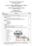 Đáp án đề thi tốt nghiệp cao đẳng nghề khóa 3 (2009-2012) - Nghề: Công nghệ ô tô - Môn thi: Lý thuyết chuyên môn nghề - Mã đề thi: OTO-LT04