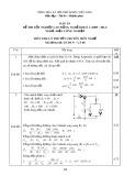 Đáp án đề thi tốt nghiệp cao đẳng nghề khóa 3 (2009-2012) - Nghề: Điện công nghiệp - Môn thi: Lý thuyết chuyên môn nghề - Mã đề thi: DA ĐCN-LT48