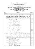 Đáp án đề thi tốt nghiệp cao đẳng nghề khóa 3 (2009-2012) - Nghề: Điện dân dụng - Môn thi: Lý thuyết chuyên môn nghề - Mã đề thi: DA ĐDD–LT23