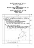 Đáp án đề thi tốt nghiệp cao đẳng nghề khóa 3 (2009-2012) - Nghề: Điện công nghiệp - Môn thi: Lý thuyết chuyên môn nghề - Mã đề thi: DA ĐCN-LT11