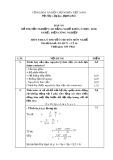 Đáp án đề thi tốt nghiệp cao đẳng nghề khóa 3 (2009-2012) - Nghề: Điện công nghiệp - Môn thi: Lý thuyết chuyên môn nghề - Mã đề thi: DA ĐCN-LT16