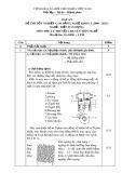 Đáp án đề thi tốt nghiệp cao đẳng nghề khóa 3 (2009-2012) - Nghề: Điện dân dụng - Môn thi: Lý thuyết chuyên môn nghề - Mã đề thi: DA ĐDD–LT20