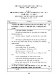 Đáp án đề thi tốt nghiệp cao đẳng nghề khoá 3 (2009-2012) - Nghề: Điện tàu thủy - Môn thi: Lý thuyết chuyên môn nghề - Mã đáp án: ĐA ĐTT-LT27