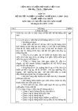 Đáp án đề thi tốt nghiệp cao đẳng nghề khoá 3 (2009-2012) - Nghề: Điện tàu thủy - Môn thi: Lý thuyết chuyên môn nghề - Mã đáp án: ĐA ĐTT-LT23