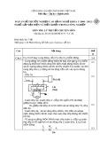 Đáp án đề thi tốt nghiệp cao đẳng nghề khóa 3 (2009-2012) - Nghề: Lắp đặt điện và điều khiển trong công nghiệp - Môn thi: Lý thuyết chuyên môn - Mã đáp án: ĐA KTLĐ&ĐKTCN-LT21