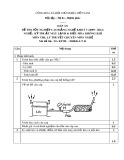 Đáp án đề thi tốt nghiệp cao đẳng nghề khoá 3 (2009-2012) - Nghề: Kỹ thuật máy lạnh và điều hòa không khí - Môn thi: Lý thuyết chuyên môn nghề - Mã đề thi: DA KTML-ĐHKK-LT41