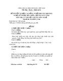 Đề thi tốt nghiệp cao đẳng nghề khóa 3 (2009-2012) - Nghề: Kỹ thuật sửa chữa, lắp ráp máy tính - Môn thi: Lý thuyết chuyên môn nghề - Mã đề thi: SCLRMT-LT46 (kèm đáp án)