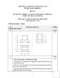 Đáp án đề thi tốt nghiệp cao đẳng nghề khóa 3 (2009-2012) - Nghề: Kỹ thuật xây dựng - Môn thi: Lý thuyết chuyên môn nghề - Mã đề thi: DA KTXD-LT18