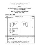 Đáp án đề thi tốt nghiệp cao đẳng nghề khóa 3 (2009-2012) - Nghề: Kỹ thuật xây dựng - Môn thi: Lý thuyết chuyên môn nghề - Mã đề thi: DA KTXD-LT20