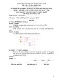 Đề thi tốt nghiệp cao đẳng nghề khóa 3 (2009-2012) - Nghề: Kỹ thuật sửa chữa, lắp ráp máy tính - Môn thi: Lý thuyết chuyên môn nghề - Mã đề thi: SCLRMT-LT08 (kèm đáp án)
