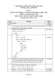 Đáp án đề thi tốt nghiệp cao đẳng nghề khóa 3 (2009-2012) - Nghề: Lập trình máy tính - Môn thi: Lý thuyết chuyên môn nghề - Mã đề thi: DA LTMT-LT01