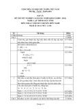 Đáp án đề thi tốt nghiệp cao đẳng nghề khóa 3 (2009-2012) - Nghề: Lập trình máy tính - Môn thi: Lý thuyết chuyên môn nghề - Mã đề thi: DA LTMT-LT04