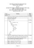 Đáp án đề thi tốt nghiệp cao đẳng nghề khóa 3 (2009-2012) - Nghề: Lập trình máy tính - Môn thi: Lý thuyết chuyên môn nghề - Mã đề thi: DA LTMT-LT07