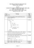 Đáp án đề thi tốt nghiệp cao đẳng nghề khóa 3 (2009-2012) - Nghề: Lập trình máy tính - Môn thi: Lý thuyết chuyên môn nghề - Mã đề thi: DA LTMT-LT08