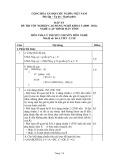 Đáp án đề thi tốt nghiệp cao đẳng nghề khóa 3 (2009-2012) - Nghề: Lập trình máy tính - Môn thi: Lý thuyết chuyên môn nghề - Mã đề thi: DA LTMT-LT18