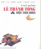 Ebook Thơ Nôm Lê Thánh Tông và hội Tao Đàn: Phần 1