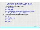 Bài giảng Vật liệu học: Chương 3 - Nguyễn Thanh Điểu