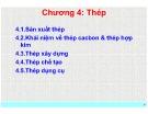Bài giảng Vật liệu học: Chương 4 - Nguyễn Thanh Điểu