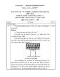 Đáp án đề thi tốt nghiệp cao đẳng nghề khóa 3 (2009-2012) - Nghề: Nguội sửa chữa máy công cụ - Môn thi: Lý thuyết chuyên môn nghề - Mã đề thi: DA SCMCC-LT02